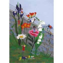 Come superare i muri... con i fiori