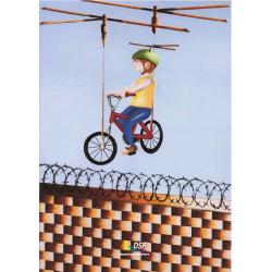 Come superare i muri...con una bicicletta