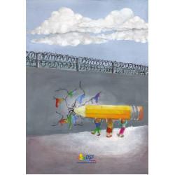 Come superare i muri...con una matita colorata