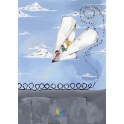 Come superare i muri...con un aereo di carta