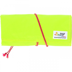 Astuccio rotolo giallo fluorescente