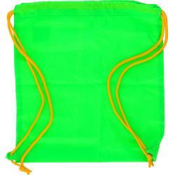 Zainetto Porta Scarpe fluo verde